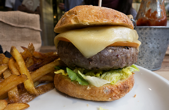 hamburguesa sin gluten