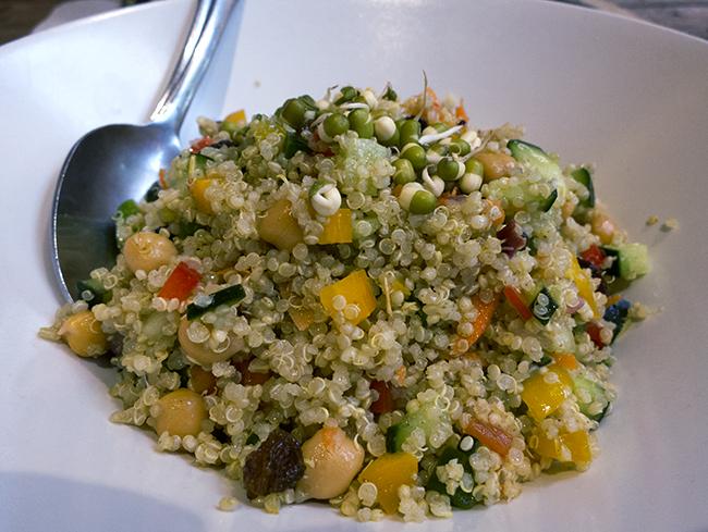 quinoa amaranto paleo