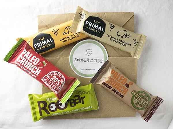 Snack gods, tienda de productos saludables {paleo, vegano}