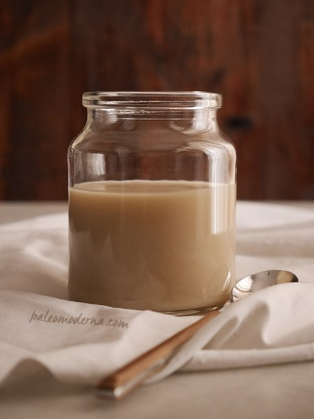 leche condensada paleo receta