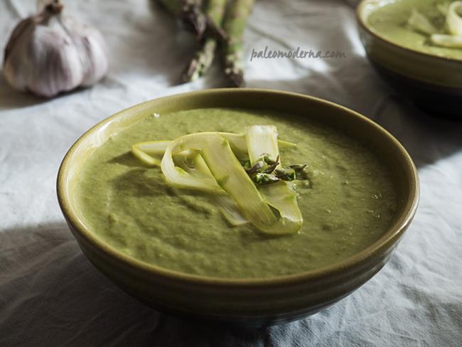 crema verduras paleo whole30