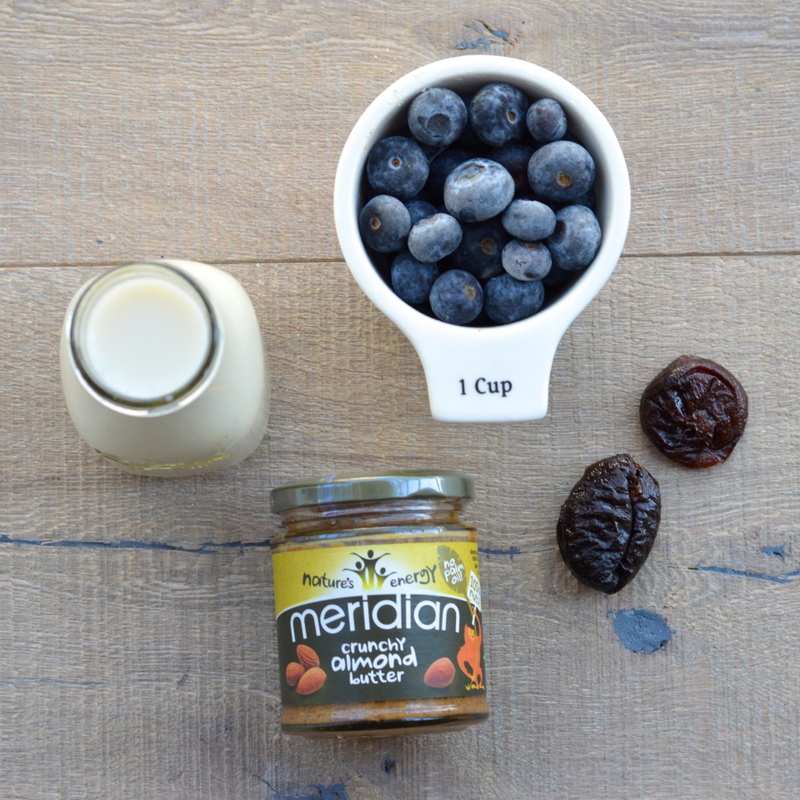 Blueberry and Almond Butter Smoothie   Paleo.With.Mrs.P