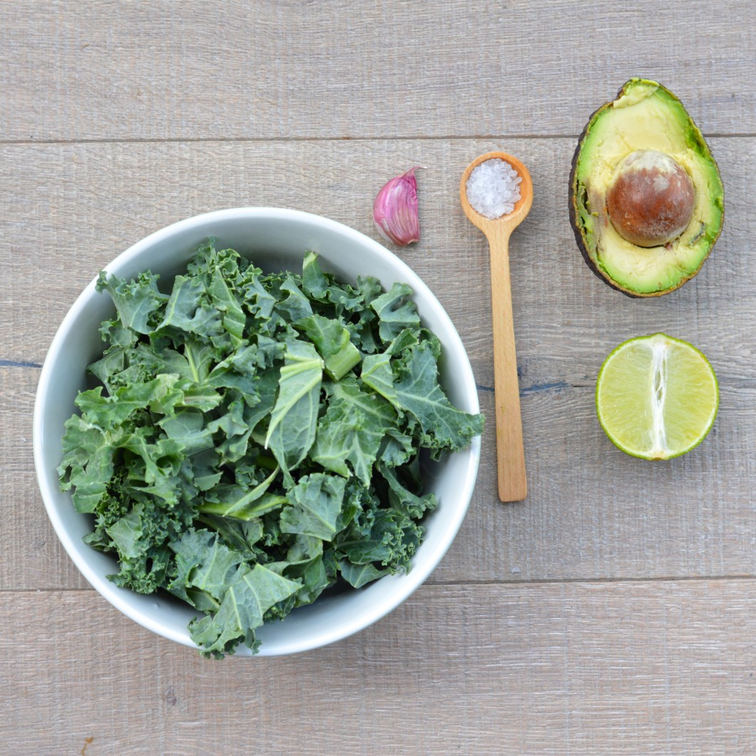 kale and avocado dip