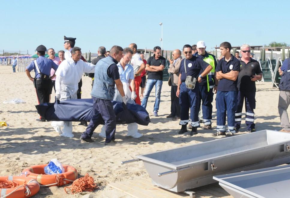 Catania, la tragedia dei migranti: le foto