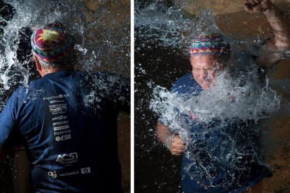 Flash splash experience