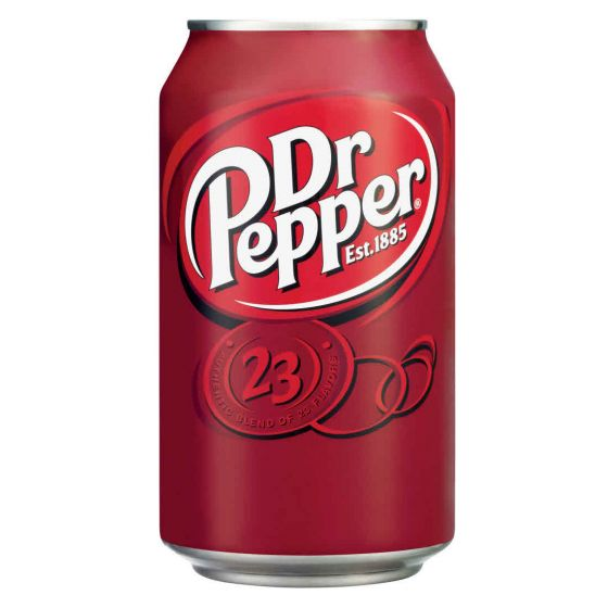 Dr Pepper can