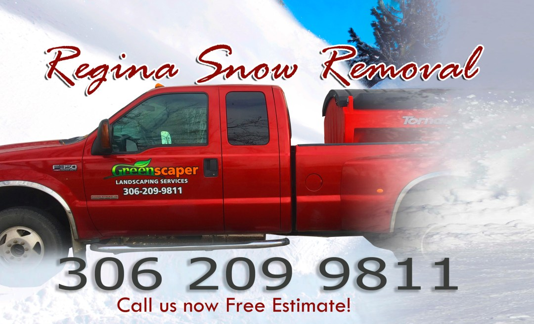 Regina snow removal service in nearby towns