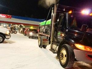 commercial snow removal service near Regina