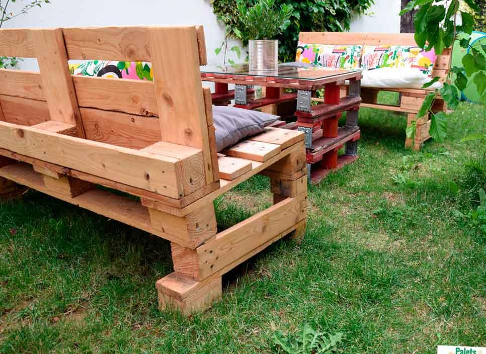 Nuevas ideas decorativas de muebles para tu terraza hechos - Palets para decoracion ...