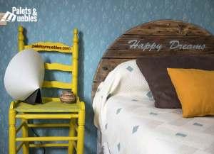 dormitorio con palets barcelona