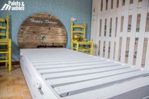 ormitorio,cama de palets palets y muebles