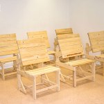 palets y muebles sillon mesa