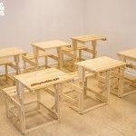 sillon mesa hecha de palets