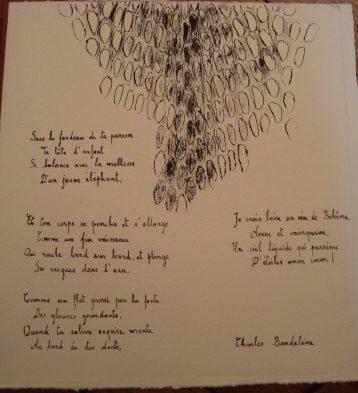 Poème de Charles Baudelaire
