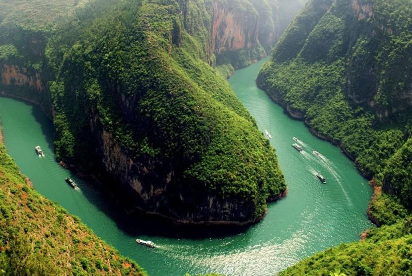 Sungai Terpanjang Di Benua Asia