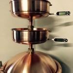 Pistorius tányér hőmérőkkel
