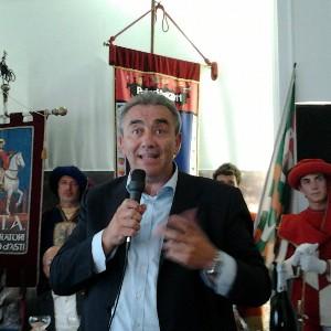 Presidente Commissioni Veterinarie palio Fulvio Brusa