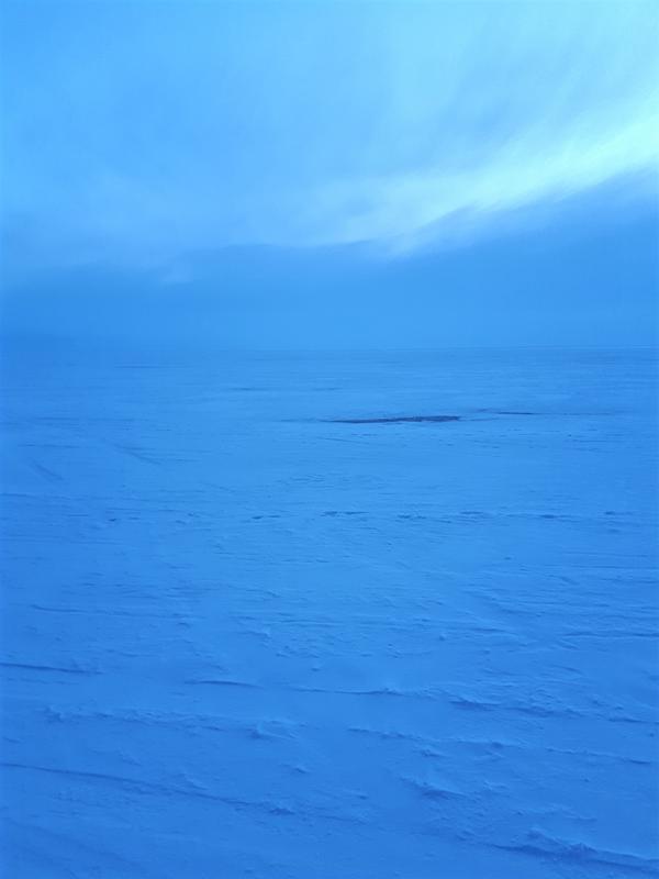 evening lake baikal winter trip report
