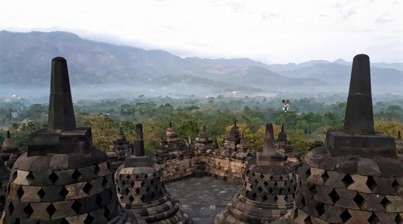 borobudur temple java indonesia