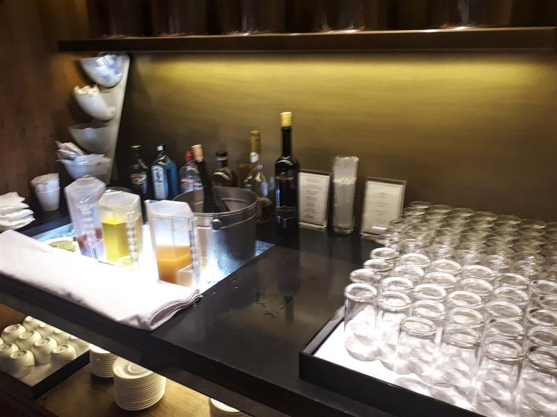 china airlines lounge drinks