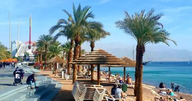 eilat city beach