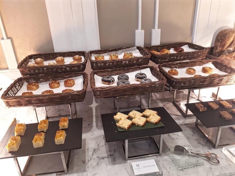 hermitage breakfast buffet