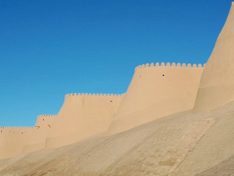 Khiva wall