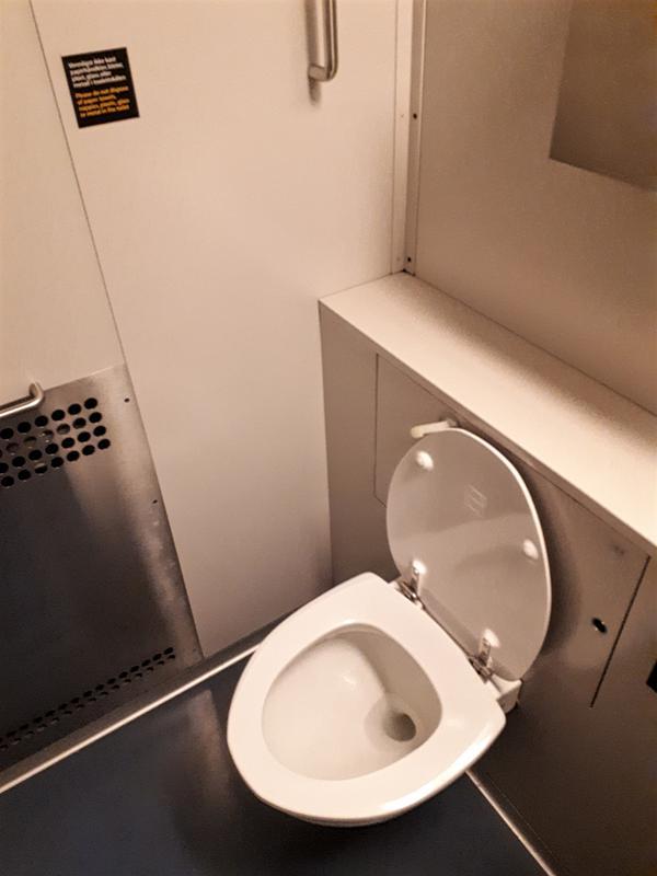 norway train toilet