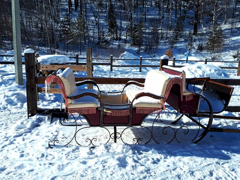 old sleighs