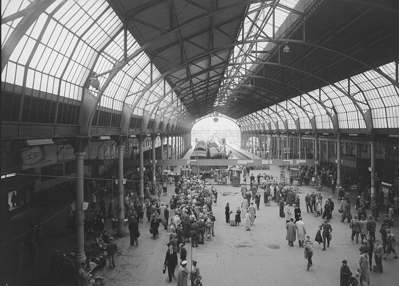 Østbanehallen 1950s