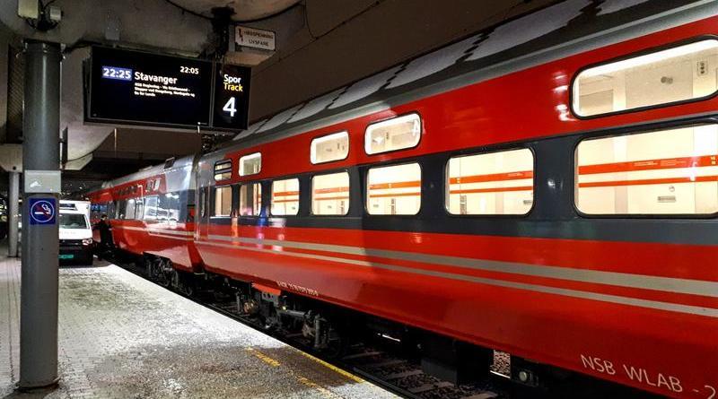 norwegian sleeper train