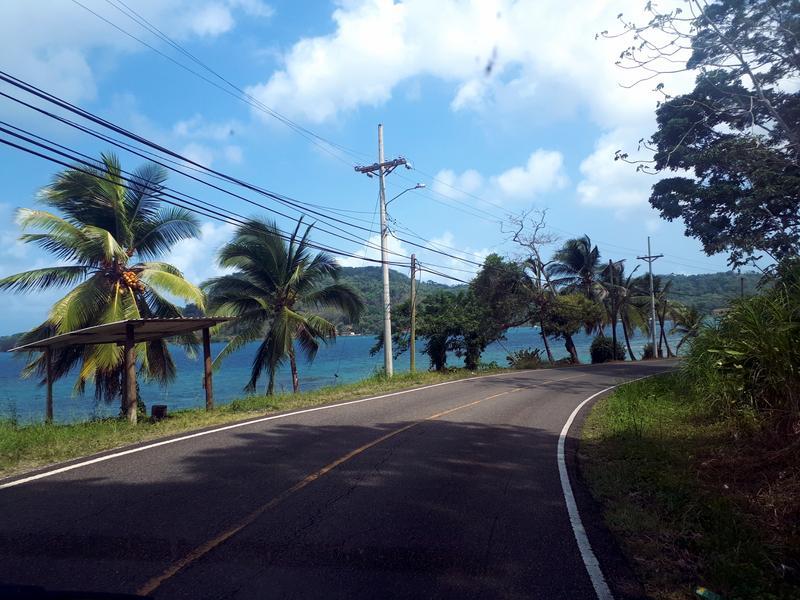 panama Caribbean road