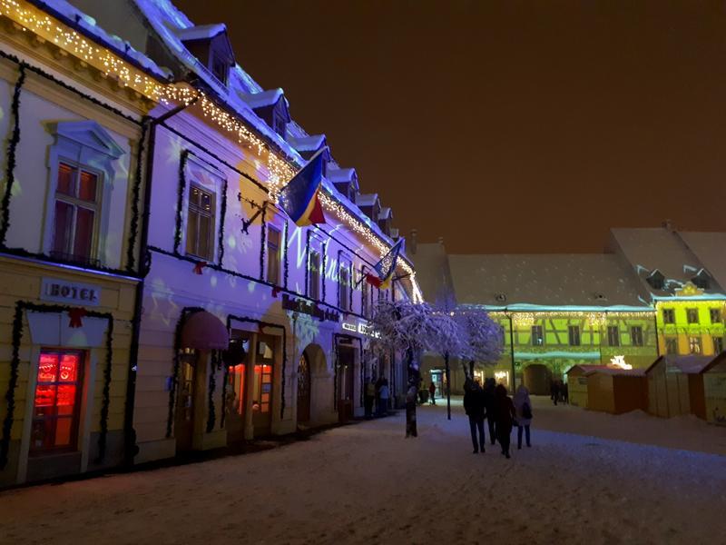 sibiu christmas lights trip report