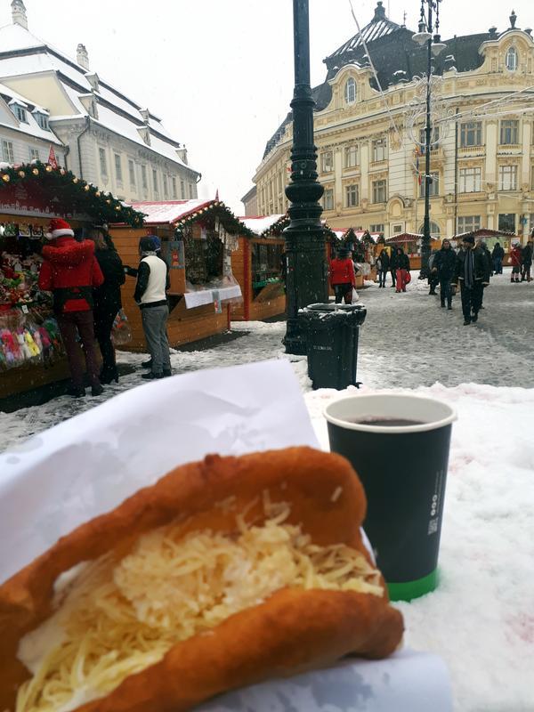 langos christmas market sibiu