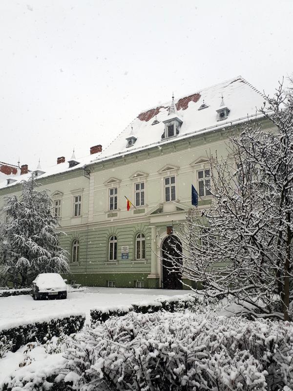 sibiu snow