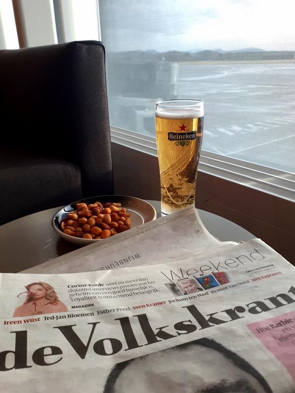 heineken beer newspaper north sea lounge stavanger
