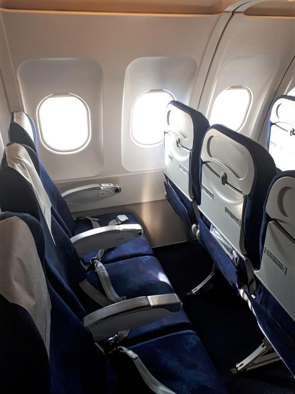 tarom a318 seats domestic flight