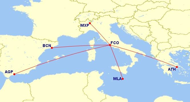 alitalia flight deal business class