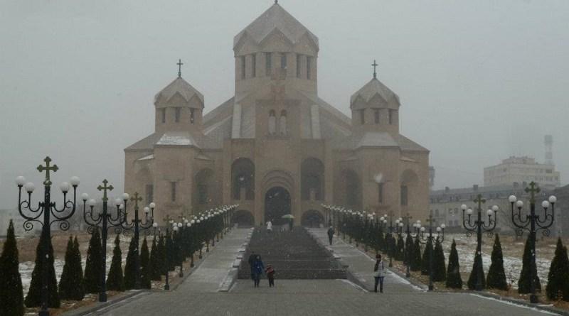 armenia yerevan church