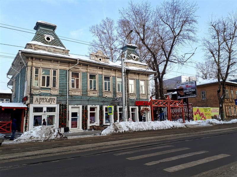 irkutsk wooden building