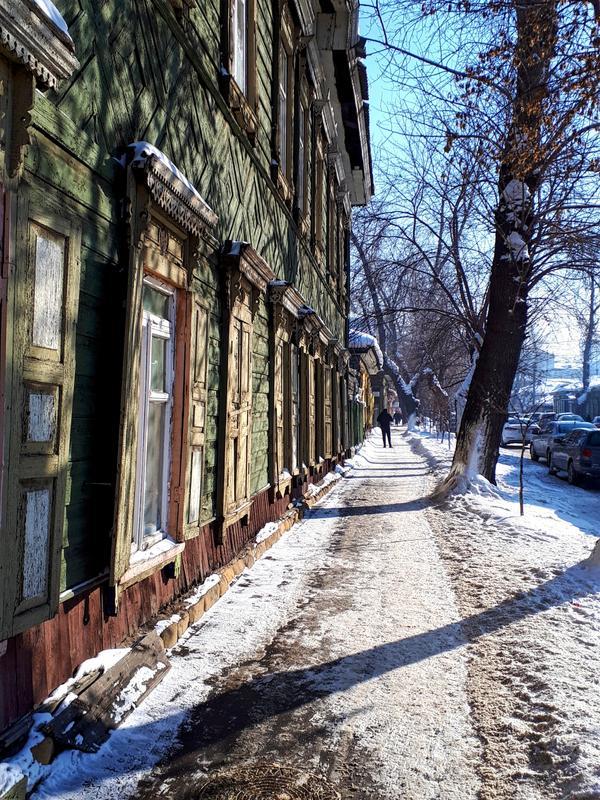 gorky street irkutsk wooden house trip report guide winter