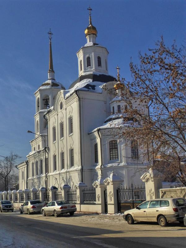 orthodox church russia irkutsk