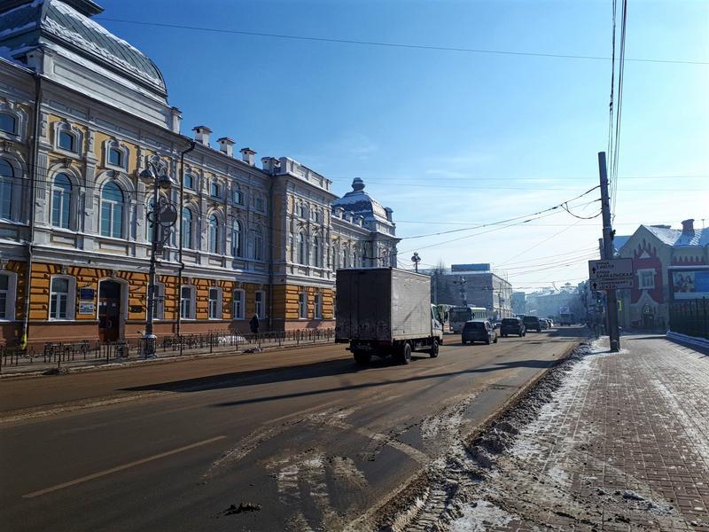 irkutsk street scene trip report guide winter
