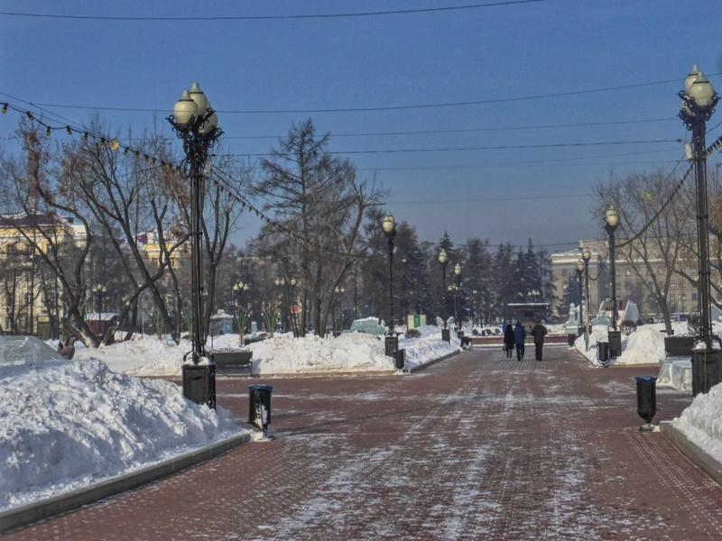 kirov square park irkutsk