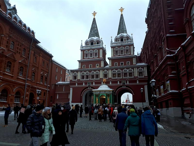 resurrection gate red square moscow