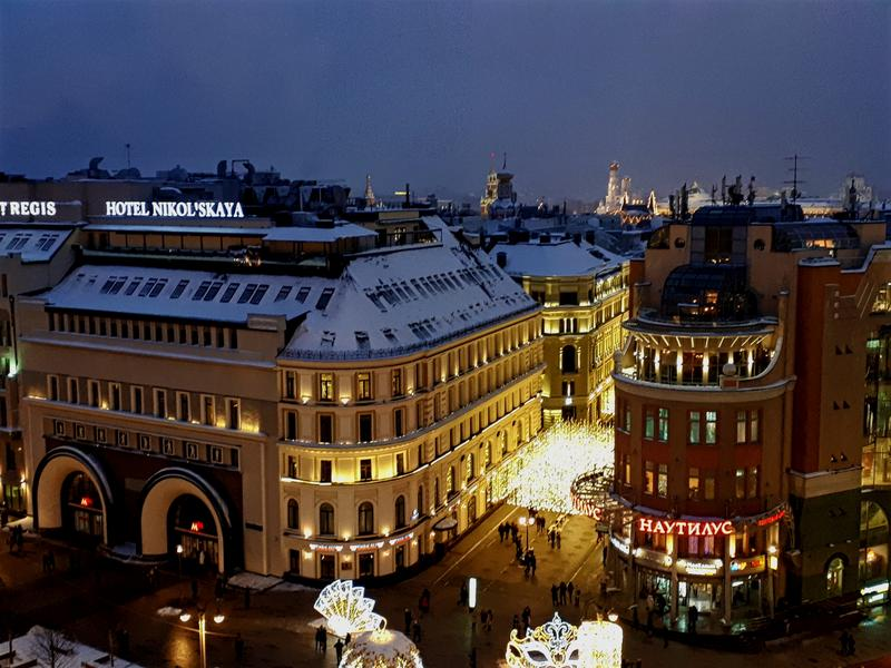 moscow rooftop view shopping centre