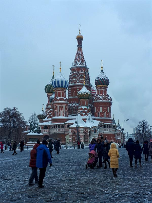 moscow st basil cathedral red square