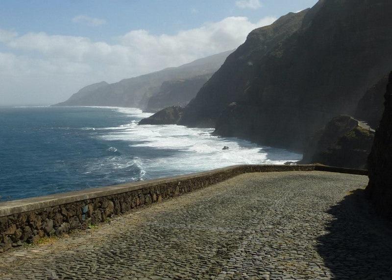 santo antao wild coast cliff cape verde