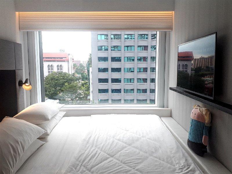 citizenm kuala lumpur hotel bed