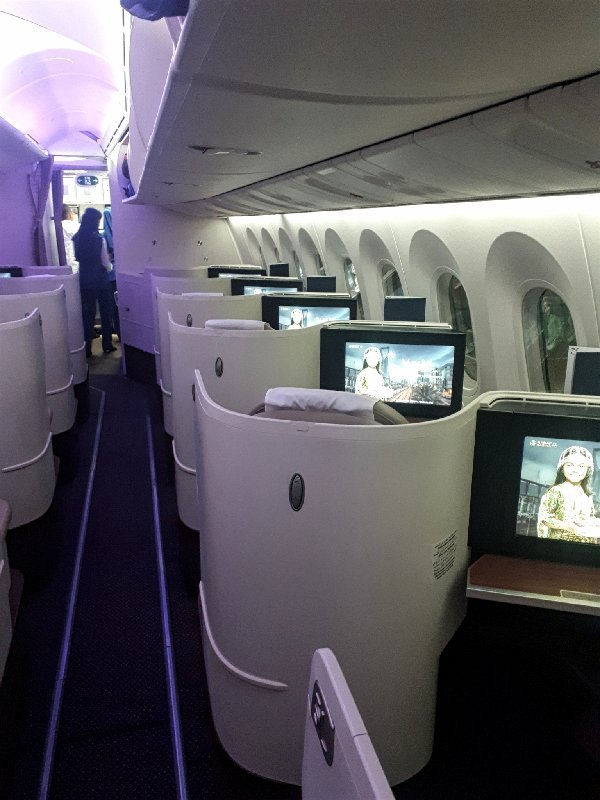 saudia boeing 787 business class review